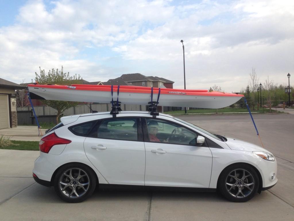 How To Put C Arry A Kayak On A Car Thecampfiretime Com