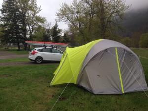 Camping Kayaking
