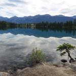 Beauvert Lake in the morning, Jasper National Park