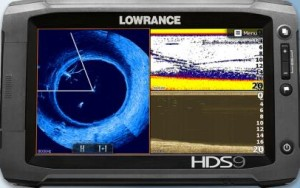 SplotlightScan sonar fish finder example chart