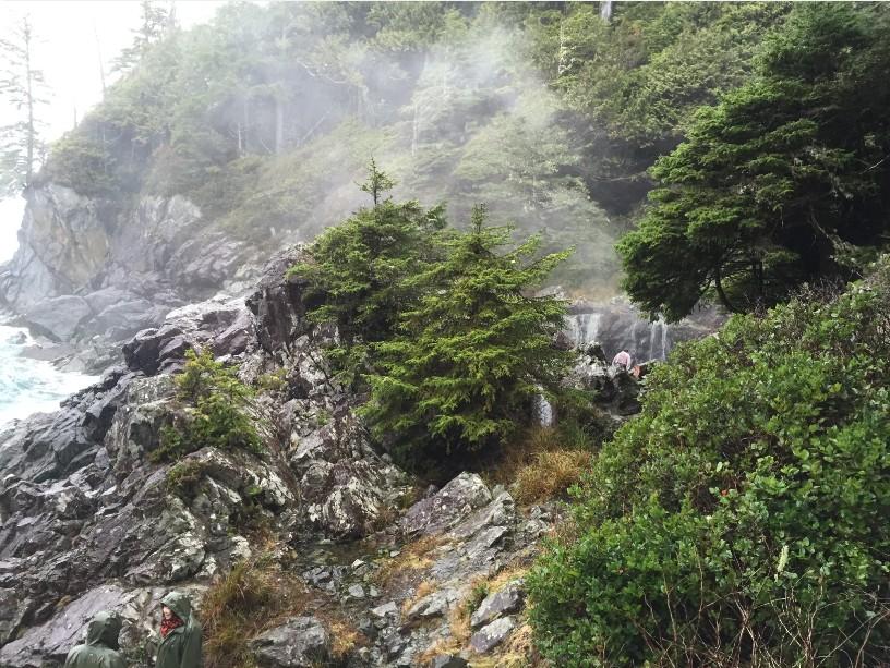 Hot Springs Cove and Water Falls