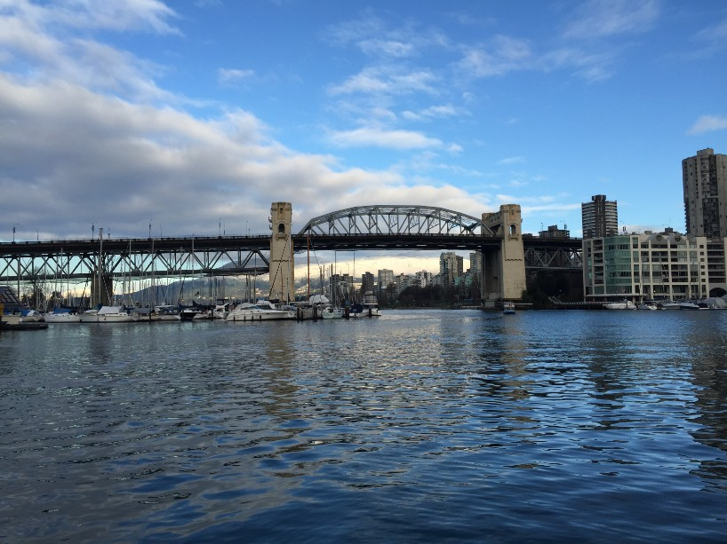 Sea bus to Granville Island: short and fast